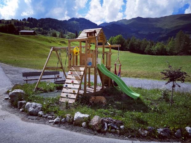 Kinderspielplatz Familienurlaub TexStilKüche Serfaus